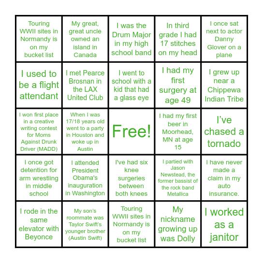 CompleteRx Bingo Card