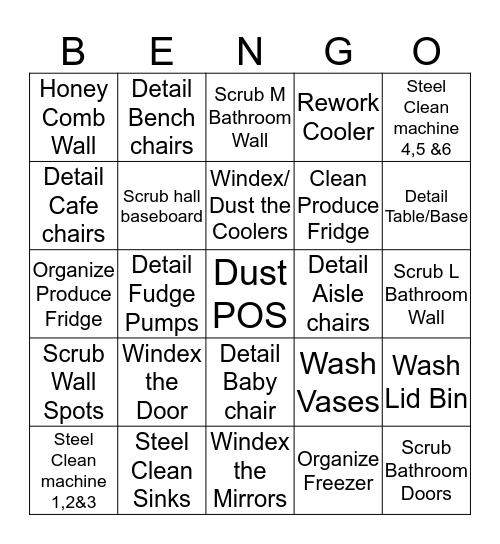 Bee ngo Bingo Card
