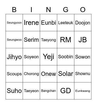 KALEM Bingo Card