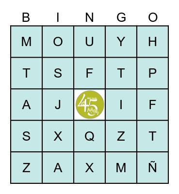 MOLINARI Bingo Card