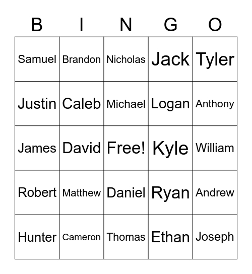 There's Some Whores in this House Bingo Card