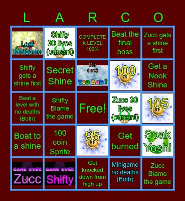 Sunshine Bingo Pt 1 Bingo Card