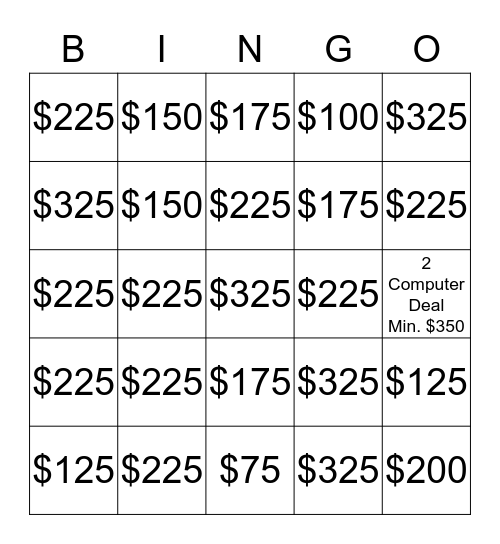 BOXSUPPORT BINGO WEEK Bingo Card