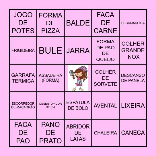 BINGO DA CAROL Bingo Card