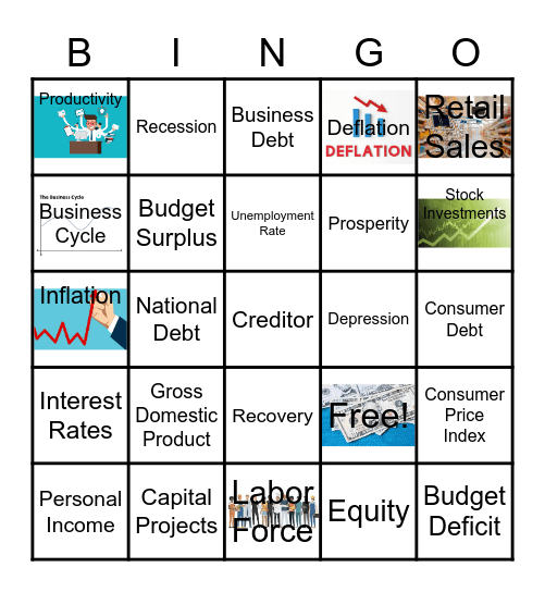 Principles of Bus. and Mark. Chapter 2 Bingo Card