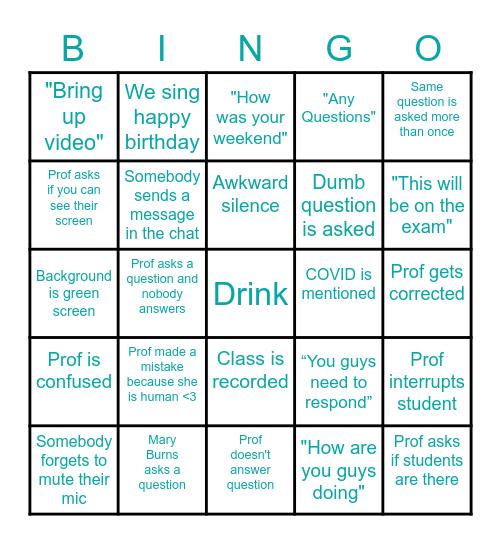 OSCM Bingo Card