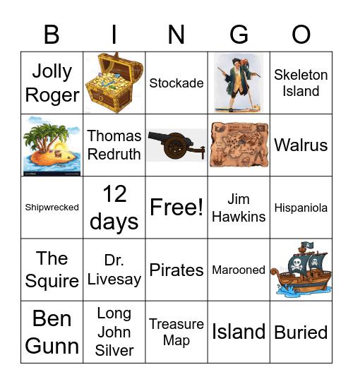 Treasure Island Bingo Ch. 10 Bingo Card