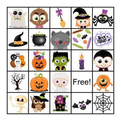 Joey Scouts Spooky Bingo! Bingo Card
