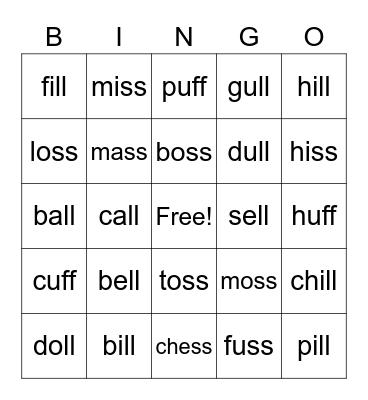 1.4 Bingo Card