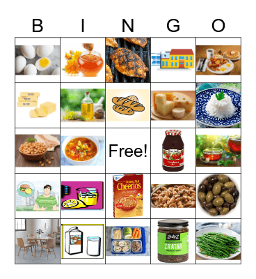 Unit 10 Bingo Card
