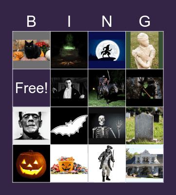 Happy Halloween Bingo Card
