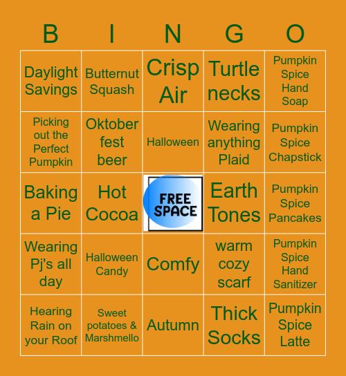 TIME FOR FALL Bingo Card