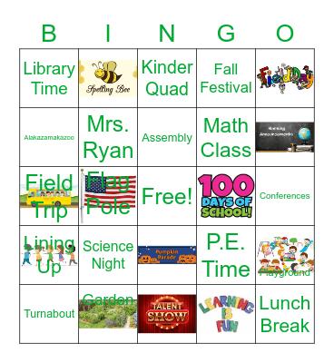 Noble Bingo Card