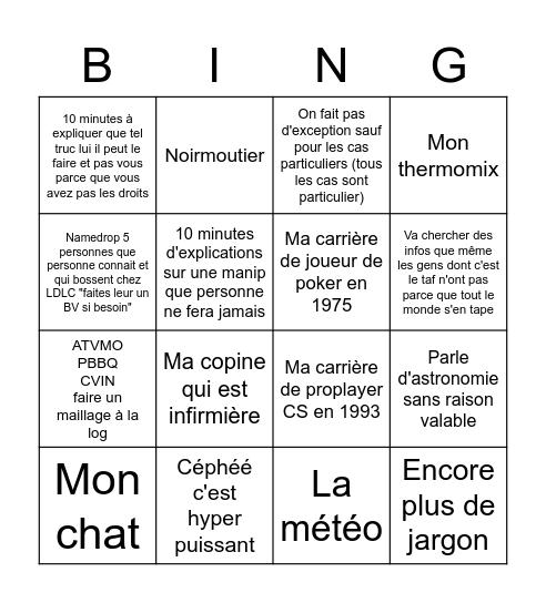 BingOrel Bingo Card