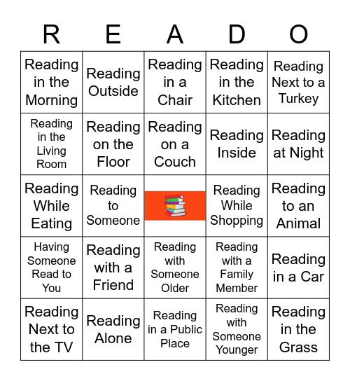 Thanksgiving READO Bingo Card