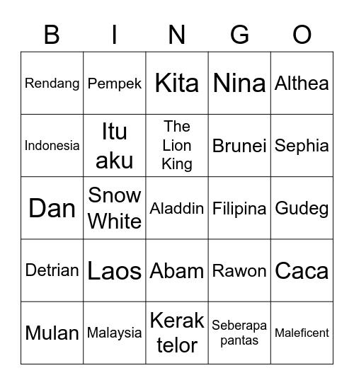 Bingo Ilea Bingo Card