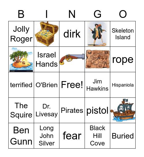 Treasure Island Bingo Ch. 14 Bingo Card