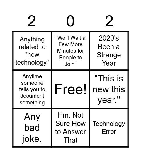 MASFAP Bingo Card