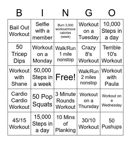 FYF Bingo Round 2 Bingo Card