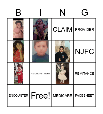 Healthcare Bingo Card