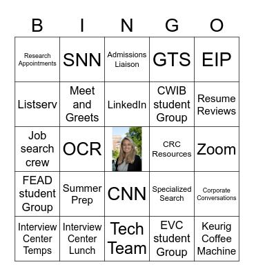 Katherine Knight Bingo Card