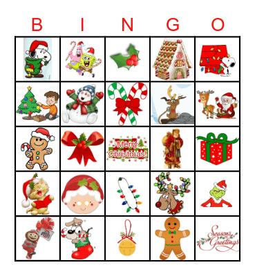 bingo natale Bingo Card