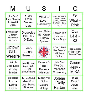 216 Bingo Card