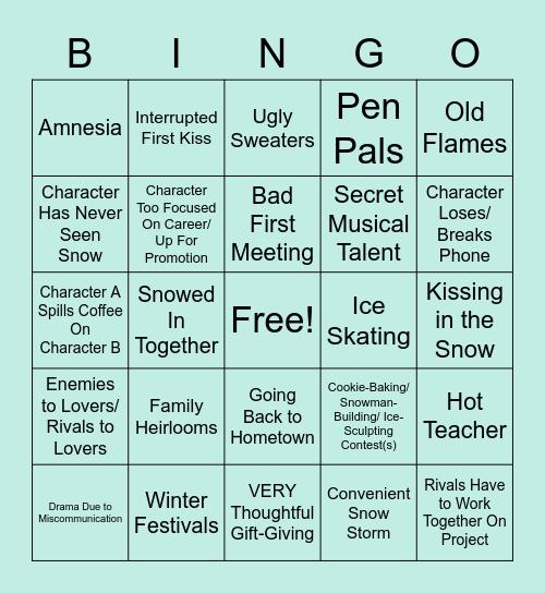 Newt/Hermann Hallmark AU Fest! Bingo Card