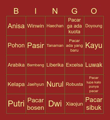 The Stranded Bingo Card