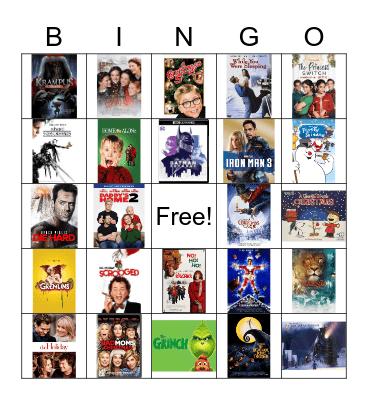 Christmas Movies Bingo! Bingo Card