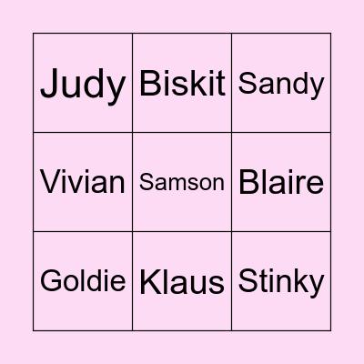 Villager Bingo Card
