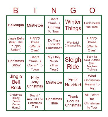 Disco Bingo Card