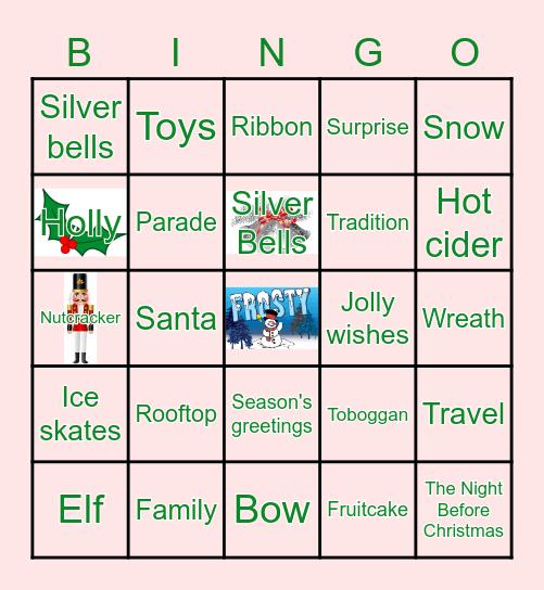 EHS Holiday Bingo Card
