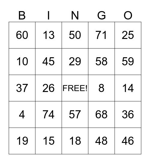 Niravmamas santa bingo  Bingo Card