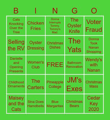Boudreaux Bingo Card