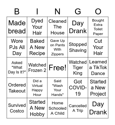 Get to know you colleague Bingo Card