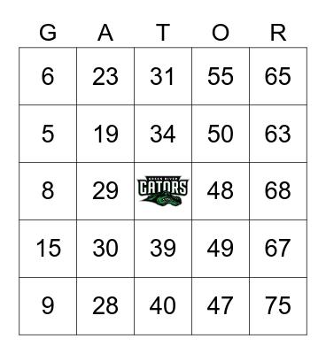 SA Holiday Celebration Game 3 Bingo Card