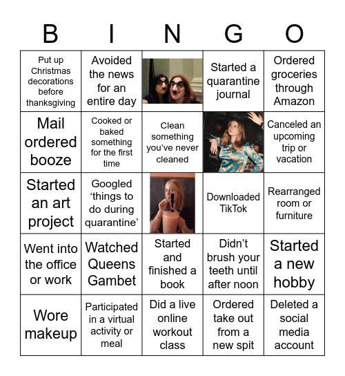 Kathy (Quarantine ) Bingo Card