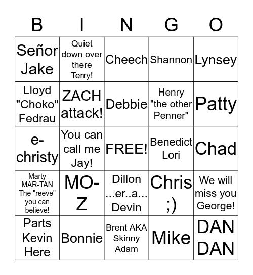 Christmas Bingo #5 Bingo Card