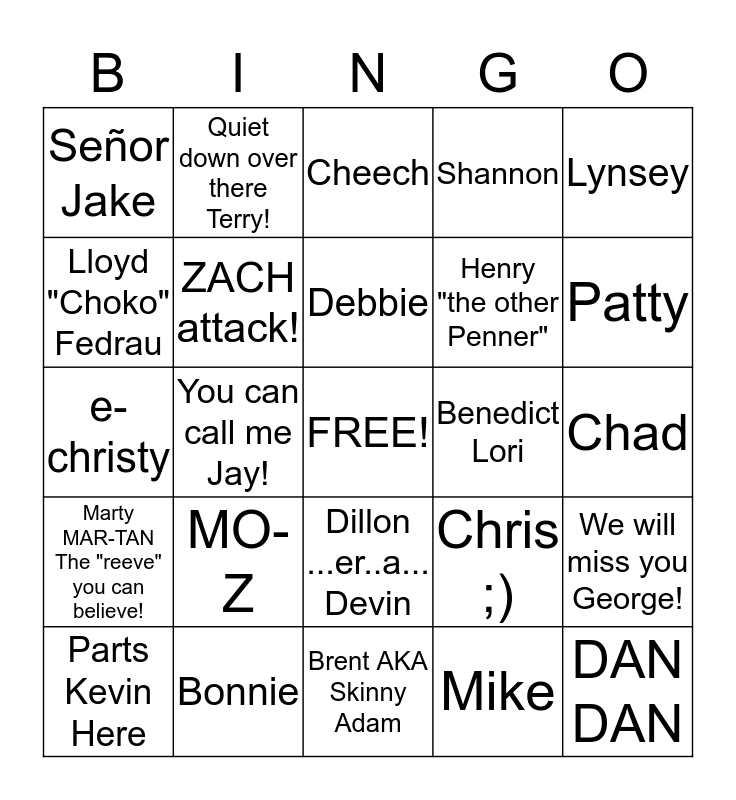 Christmas Bingo #5 Bingo Card