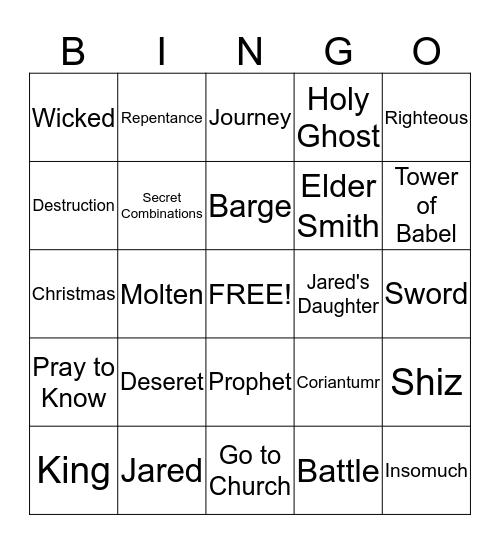 Ether Bingo! Bingo Card