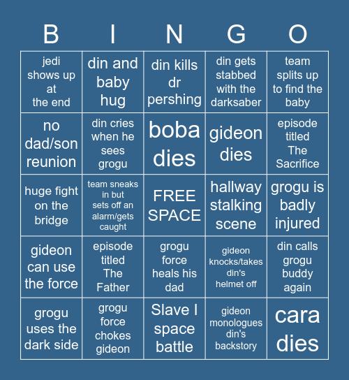 mando s2 finale prediction bingo Card