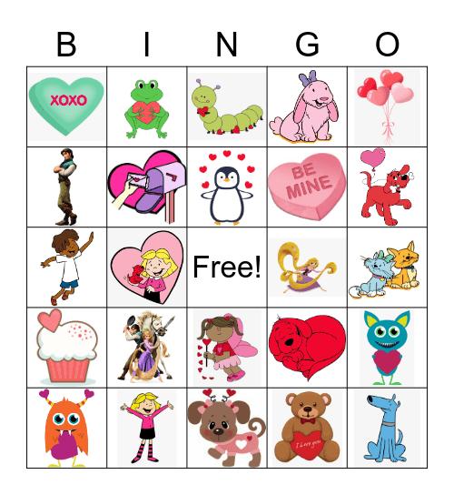 February Frozen Bingo Card