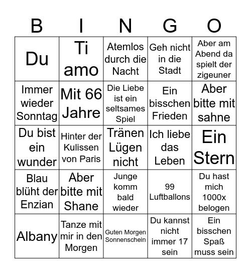 Muziekbingo - Huub Emmers Bingo Card