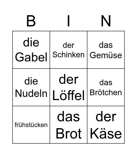 H2 K3 woordjes Ne-Du Bingo Card