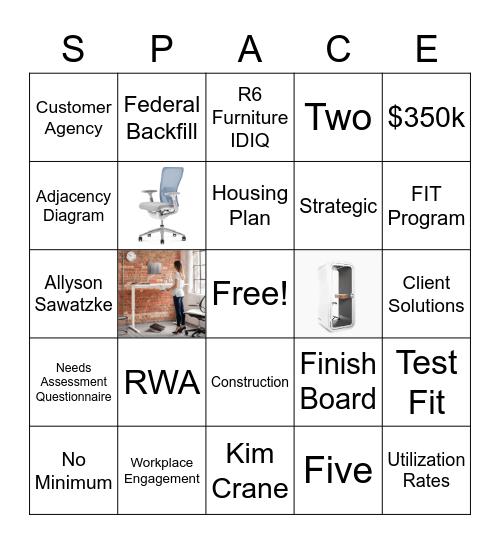 Getting to Know Region 6 Total Workplace Program Bingo Card