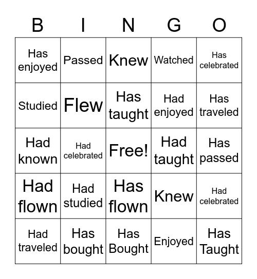 World Lit. Bingo Card Bingo Card