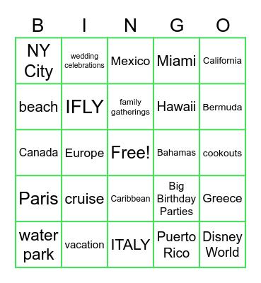 Life After COVID Bingo Card
