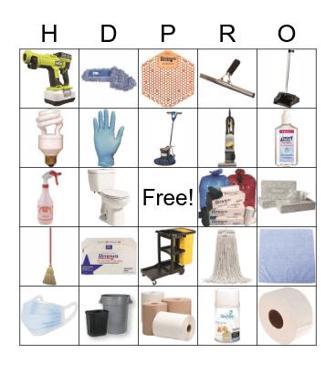 Home Depot Pro Bingo Card