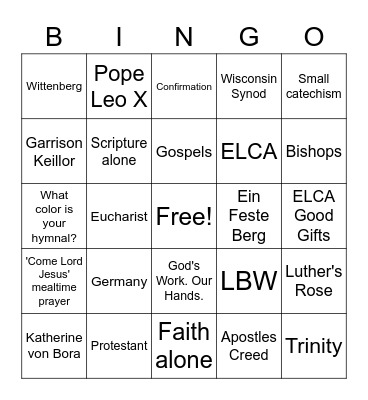 This is most certainly true! Bingo Card